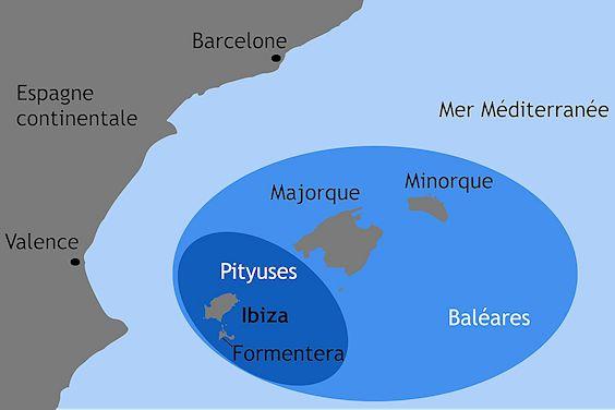 Ibiza,Pityuses,Baleares