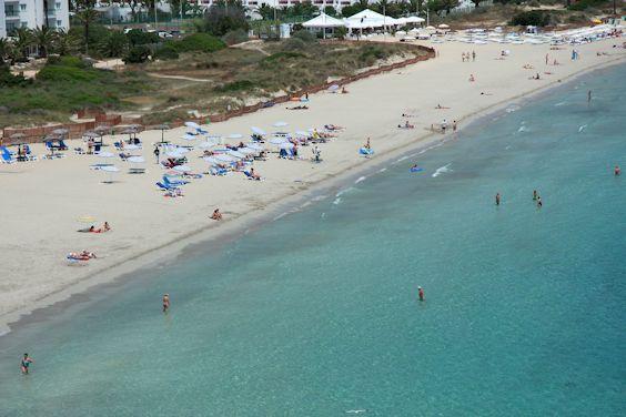 Partie Calm playa den Bossa
