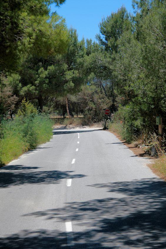 Une route d'Ibiza