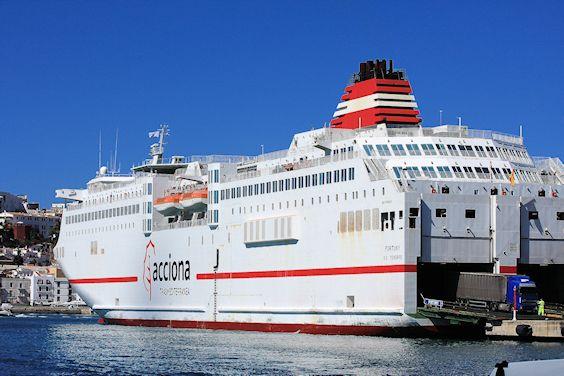 Ferry port Ibiza