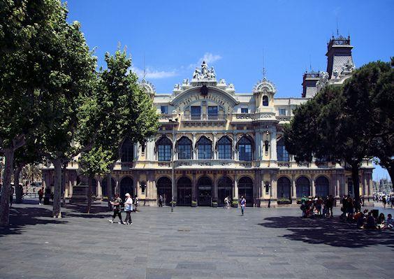 port historique de Barcelone