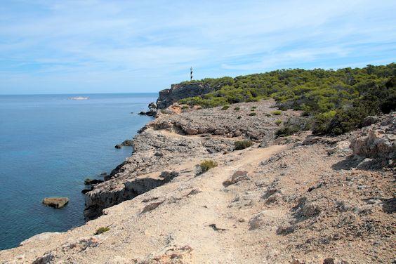 Côte rocheuse Portinatx